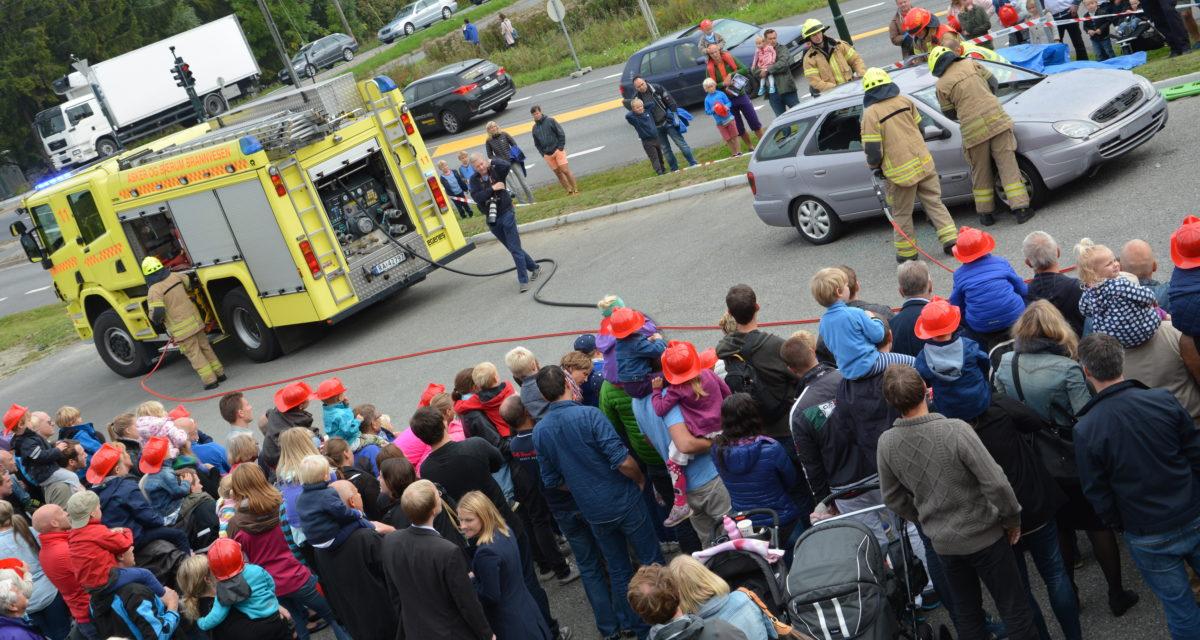 Velkommen til Åpen dag på Asker brannstasjon 19. september!
