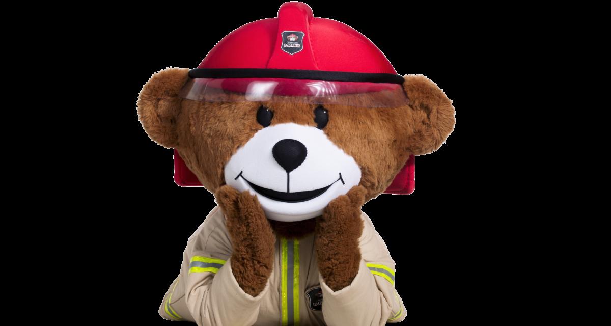 Bjørnis lærer femåringer om brann